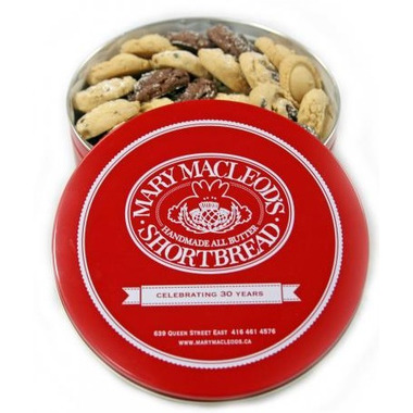 Mary Macleod\'s Small Red Tin Assorted Shortbread Cookies