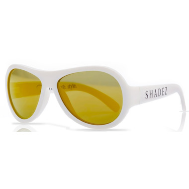 Shadez Classics Children Sunglasses White