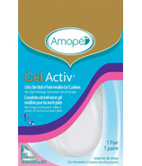 Amope Gel Activ Women's Ultra Slim Ball of Foot Invisible Gel Cushions