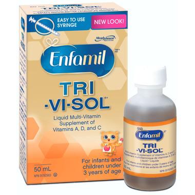 Enfamil Tri-Vi-Sol Liquid Multi-Vitamin Supplement of Vitamins A, D, C