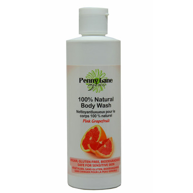 Penny Lane Organics 100% Natural Luxurious Body Wash Pink Grapefruit