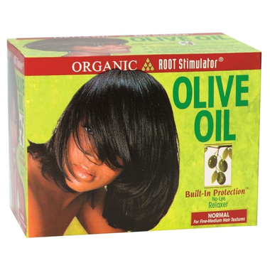 Organic Root Stimulator Olive Oil NoLye Relaxer System