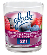 Glade 2 In 1 Scented Candle