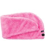 Studio Dry Turban Hair Towel in Pink