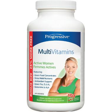 Progressive MultiVitamins for Active Women Bonus Size