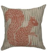 Danica Studio Cushion Cover Linen Flora & Fauna