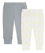 Skip Hop ABC-123 Baby Pants 2 Piece Set Grey