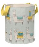 Danica Studio Llamarama Canvas Hamper