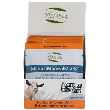 St. Francis Herb Farm Mineral Matrix Protein Powder
