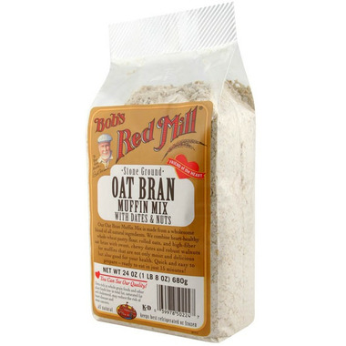 Bob\'s Red Mill Oat Bran & Date Nut Muffin Mix