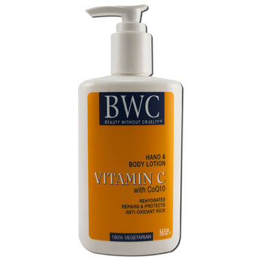 Beauty Without Cruelty Vitamin C with CoQ10 Hand & Body Lotion
