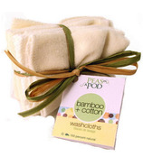 Peas In A Pod Organic Cotton Baby Wash Cloth Pack