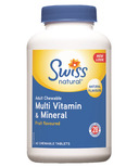 Swiss Natural Adult Chewable Multi Vitamin & Mineral