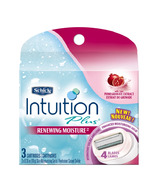 Schick Intuition Plus Renewing Moisture Replacement Blades