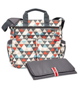 Skip Hop Duo Signature Diaper Bag Triangle Print