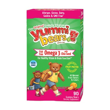 Yummi Bears Omega 3 with Chia