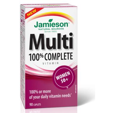 Jamieson Multi 100% Complete Vitamin for Women 50+