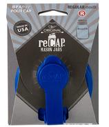 reCAP Mason Jars Pour Cap Regular Mouth Blue