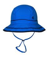 Calikids Quick-Dry Bucket Hat Extra Wide Brim Blue Astor