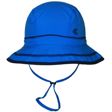Calikids Quick-Dry Bucket Hat Extra Wide Brim Blue Astor