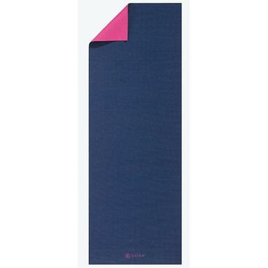 Gaiam Classic Reversible Yoga Mat Navy & Pink