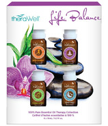 Therawell Life Balance 4 Pack Essential Oils