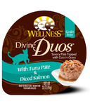 Wellness Divine Duos Tuna Pate & Diced Salmon CASE OF 24