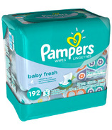 Pampers Baby Fresh Wipes Travel Packs