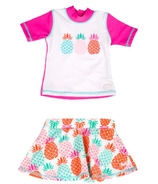 Banz Two Piece Swimsuit Pineapple
