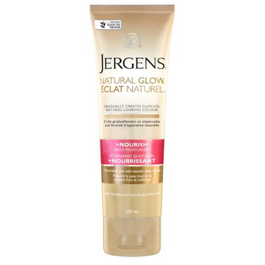Jergens Natural Glow Daily Moisturizer +Nourish