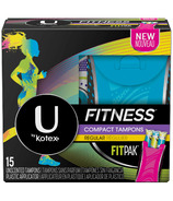 U by Kotex Fitness Tampons Regular