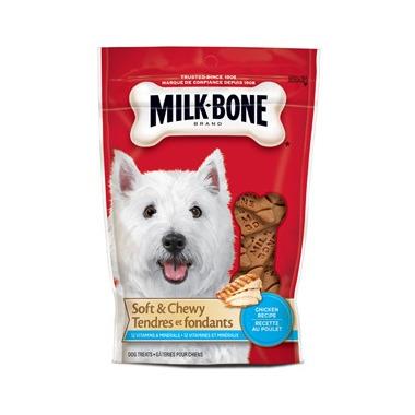 Milk-Bone Soft & Chewy Chicken Drumstix Recipe Dog Treats