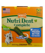 Nutri Dent Complete Dental Chews Chicken Small Size 50 Pack