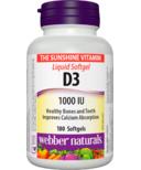 Webber Naturals Vitamin D3