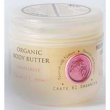 Crate 61 Organics Grapefruit Body Butter