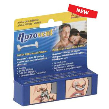 Nozovent Latex Free Nasal Dilator