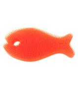 Innobaby Silicone Bath Scrub Orange and Mango Fish