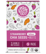 Veggie Go's Strawberry, Chia and Beet Bites