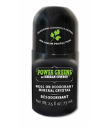 Herban Cowboy Power Greens Crystal Deodorant