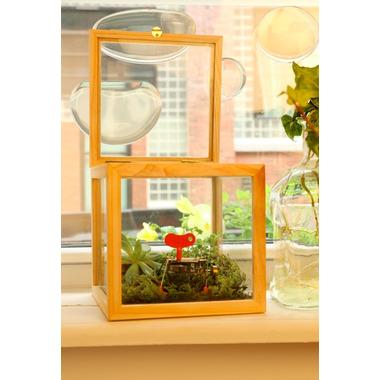 Kikkerland Square Glass Storage Box