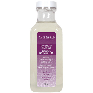 Aura Cacia Aromatherapy Lavender Harvest Bubble Bath