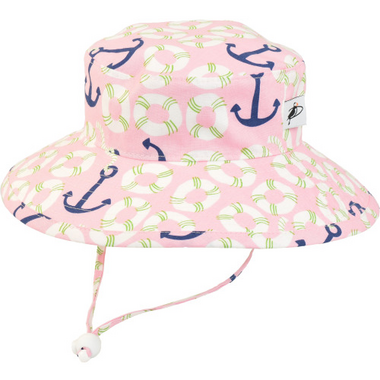 Puffin Gear Sunbaby Hat Pink Life Ring