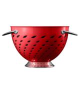 Savora 5 Quart Stainless Steel Colander Crimson