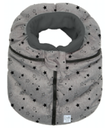 7 A.M Enfant Cocoon Heather Grey with Stars