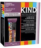 KIND Cashew & Ginger Spice Bars