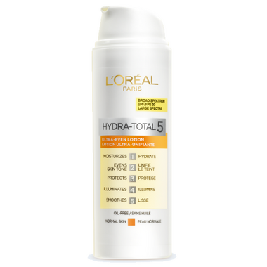 L\'Oreal Paris Hydra-Total 5 Ultra-Even Lotion SPF 20