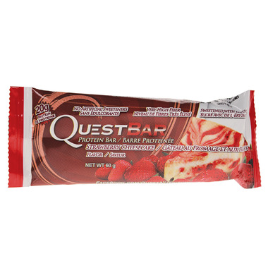 Quest Nutrition Strawberry Cheesecake Protein Bar