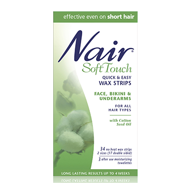 Nair Soft Touch Quick & Easy Wax Strips