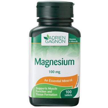 Adrien Gagnon Magnesium 100 mg