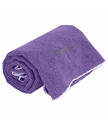 Gaiam Thirsty Yoga Hand Towel Deep Purple